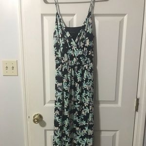 Floral banana republic dress